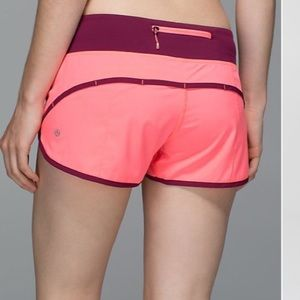 Lululemon run speed short 4way stretch